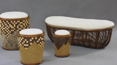 Bean Bench & Drum Bench