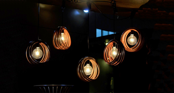 Chakra Hanging Lamp