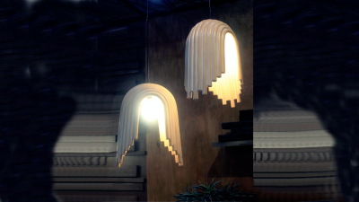 Vector Hanging Lamp