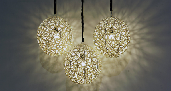 Bird's Nest hanging Lamp