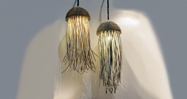 Jelly Fish Hanging Lamp