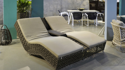 Troy Double Chaise Lounge