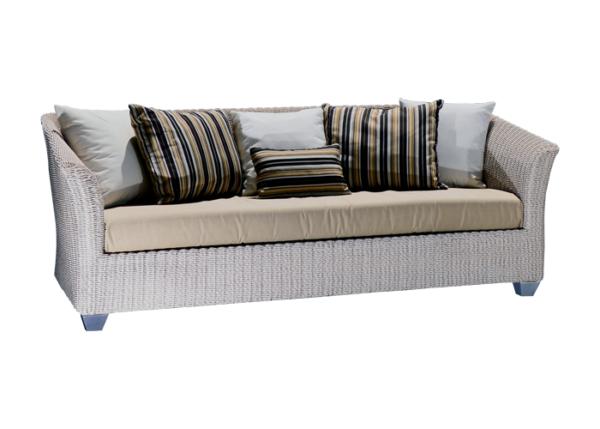 Barbados Sofa in Twisted Polyrod