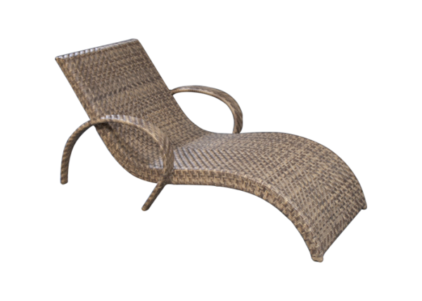 Scandovia Chaise Lounge- Mocha Cream
